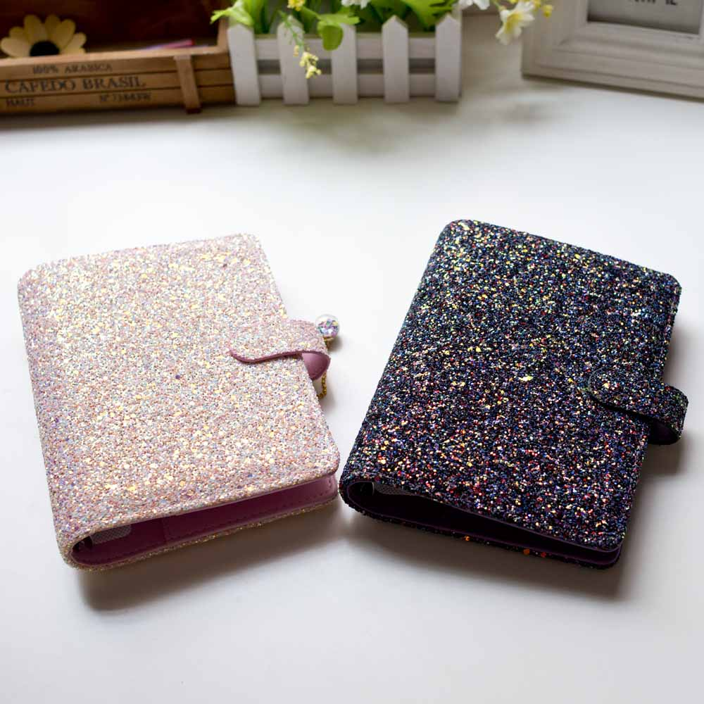 Hot Offer 7d4c6 Beautiful Colorful Spiral Notebook Insert A5 A6