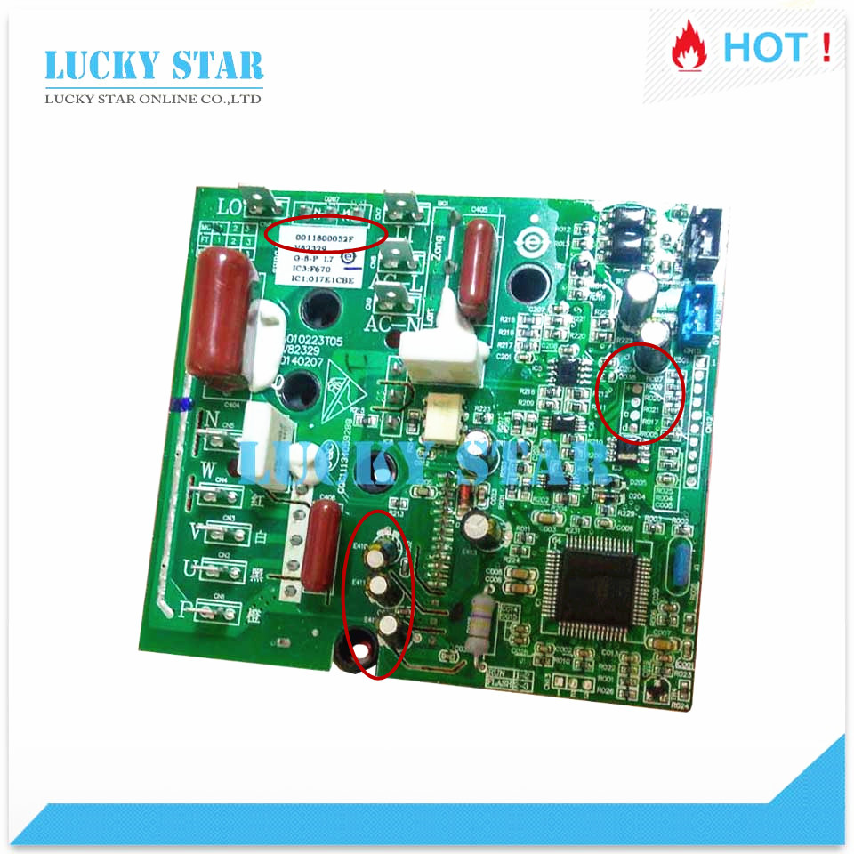 for Air conditioning Power module frequency conversion used board 0011800052 0011800052F/M/R/C/K/N/V/A good working air conditioning frequency conversion module dkq kt 02a 05 01 kfr 2801gw bp pm20ctm060 used board good working