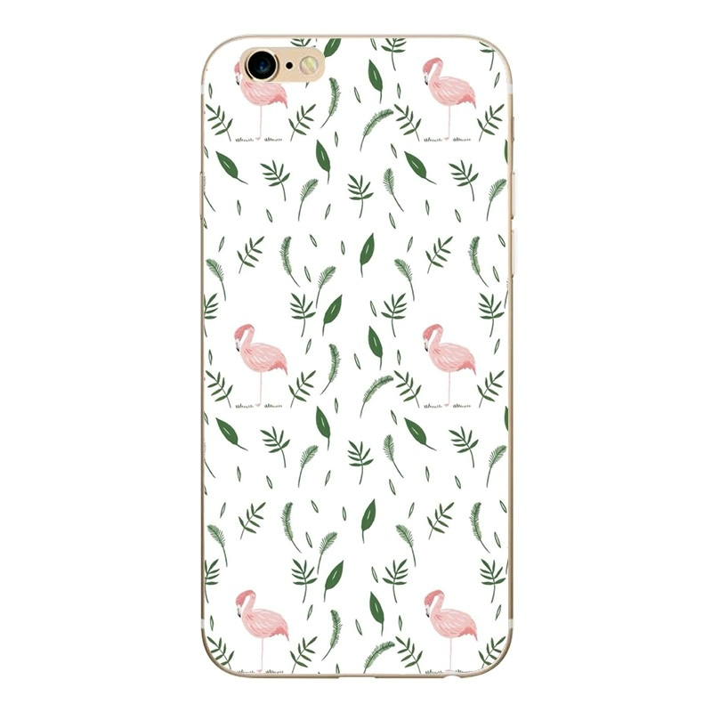 GLSHST Cool summer series For iPhone 7 Case Silicone Painted Cartoon Mobile Phone Cover Shell TPU Protective Fundas For iPhone 7 (3)