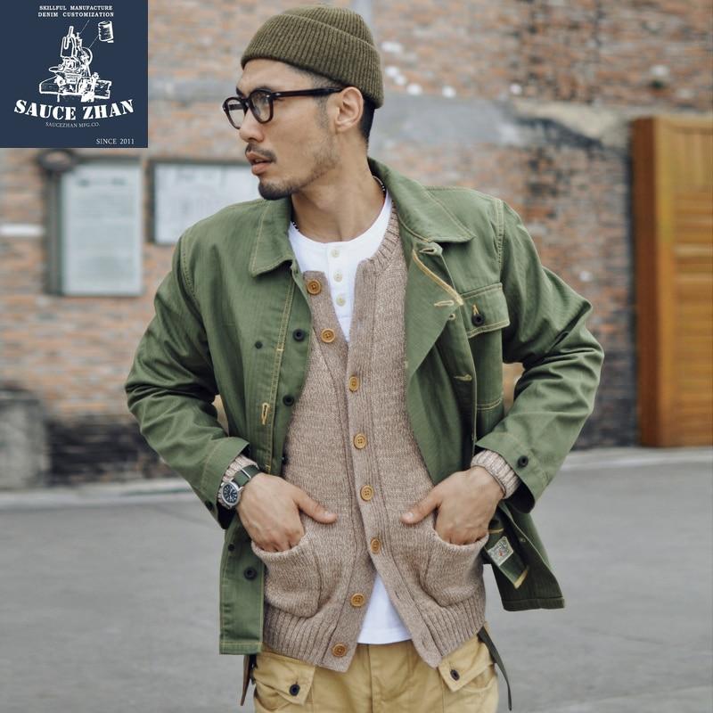 NON STOCK Duck Canvas Game Pocket Vest Vintage Outdoor Men s Hunting Jacket
