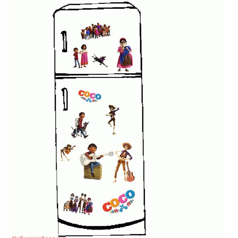 20 Unids Lote Coco Dibujos Animados Pelicula Miguel Hector