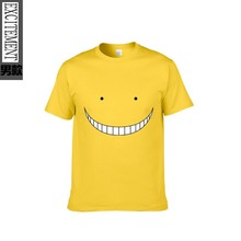 Fashion Funny Japanese Anime Assassination Classroom Printed T-shirt Summer Men's Print Tees Tops Short-sleeve High Quality