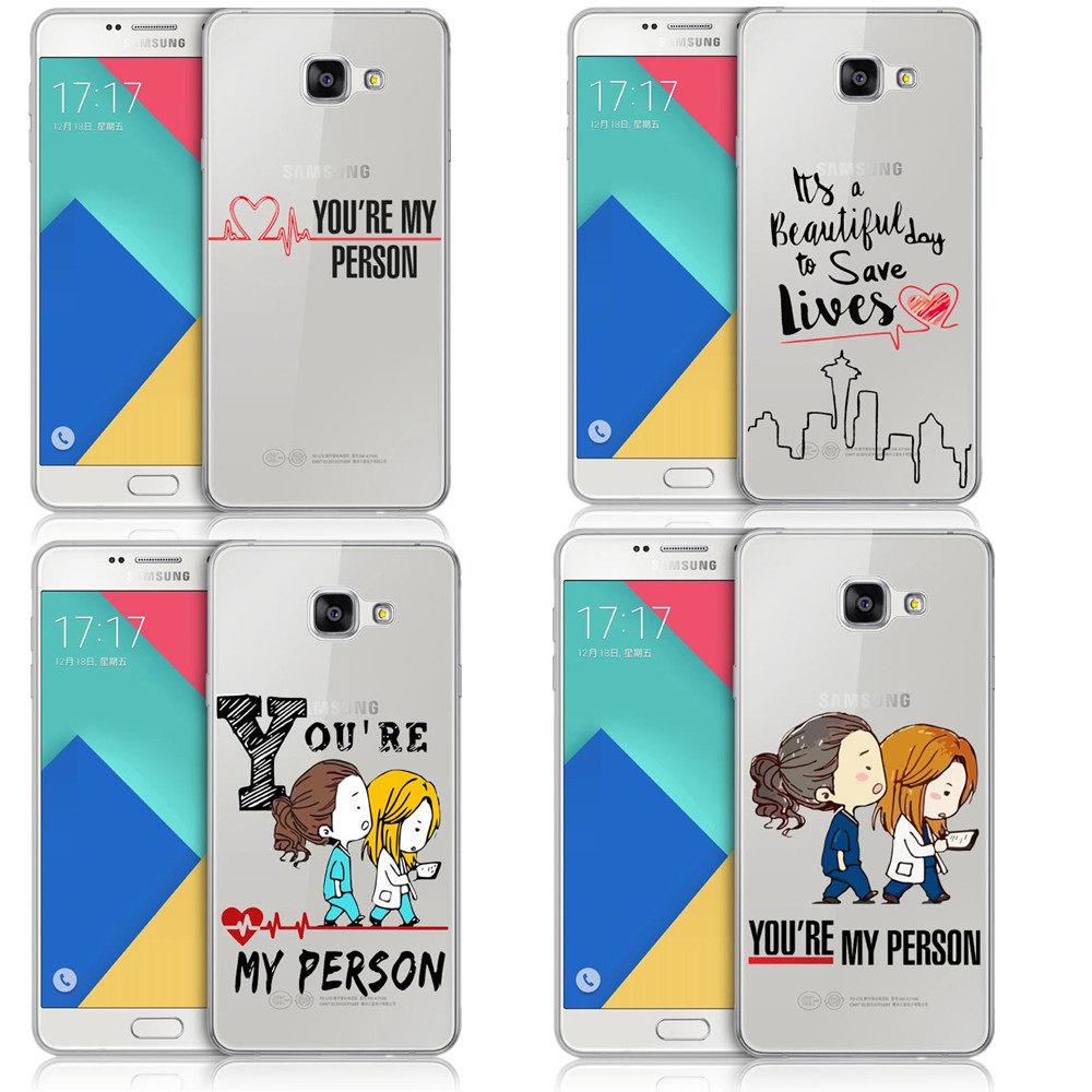 Tienda Online Anatomía del gris usted es mi persona para Samsung S6 ...