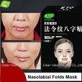 10 Sulco Nasogeniano pares/caixa Anti-rugas Da Testa Adesivos Anti-envelhecimento Máscara Facial Lifting Máscara Facial Face Care