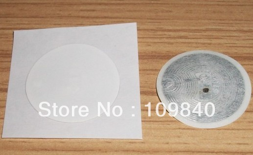 Free shipping NTAG203 NFC Sticker label for all NFC android phone all polymer biosensor for label free point of care diagnostics