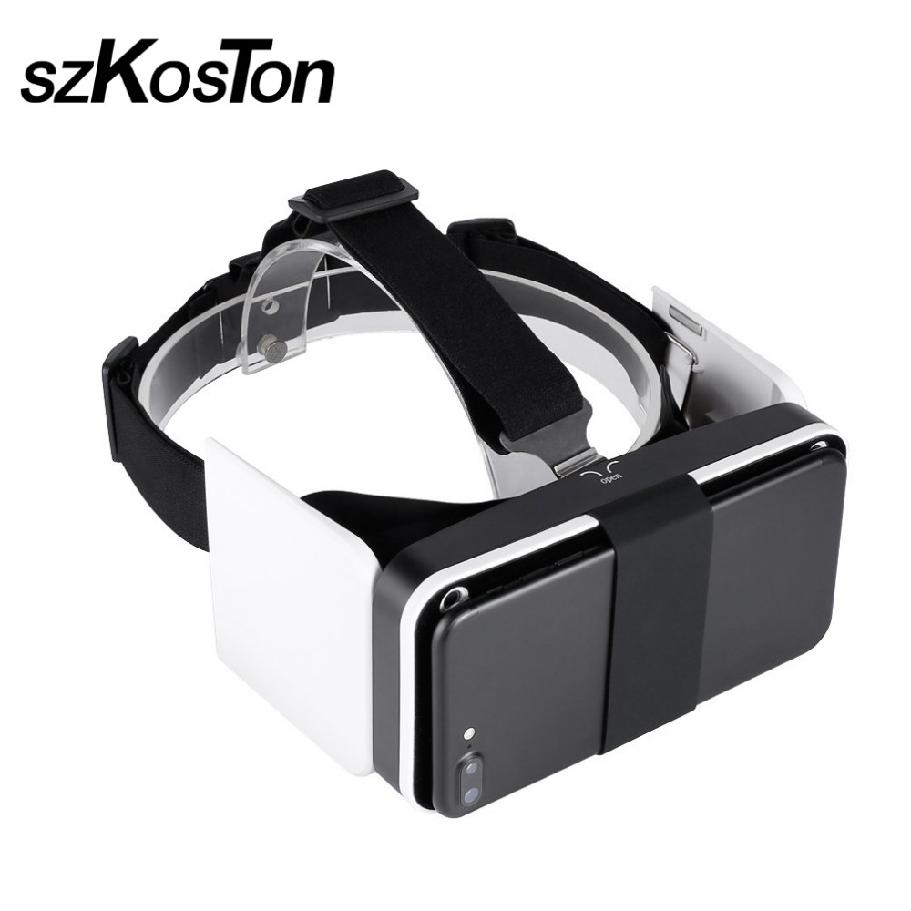 Adjustable VR Box 3D Virtual Reality Glasses HD Immersive Experience Folding Viewing Glasses