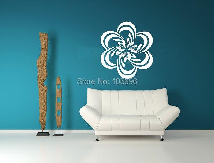 Custom Made 110*110cm Muslim islamic design Wall decor Home stickers Art Decals Murals Vinyl No133
