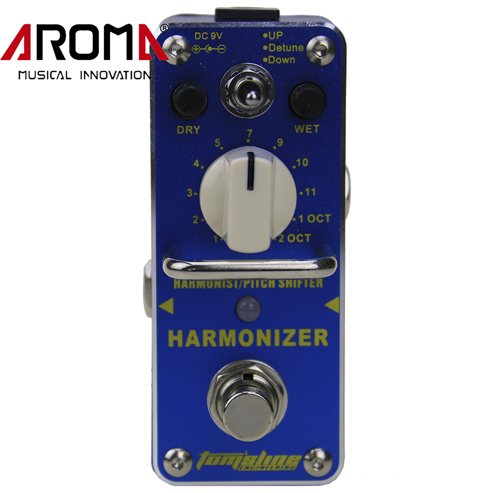 ФОТО AROMA AHAR-3 Harmonizer Harmonist/Pitch Shifter Electric Guitar Mini Effect Pedal With True Bypass