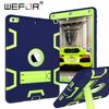 WEFOR For New IPad 2017 IPad 9 7 Case High Impact Resistant Hybrid Three Layer Heavy