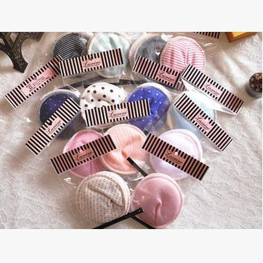 20pcs=10pairs Wasbaar maandverband washable feminine pads wasbare wattenschijfjes breastfeeding breast printing maternal