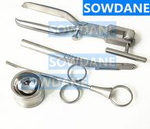 Outil chirurgical dentaire, broyeur à os, outil de broyeur à os, outil de raclage dentaire, dentiste, bol de mélange, seringue, chirurgie dentaire
