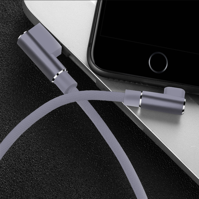 1M 2M 3M 90 Degree USB Data Charger Fast Cable for iPhone X XR XS MAX 5 5S SE 6 S 6S 7 8 Plus iPad Phone Origin long Cord Charge