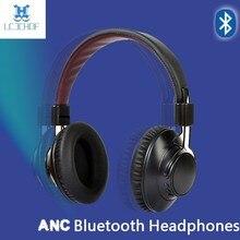 лучшая цена LCJCHDF For PC phone Bass HIFI Headphone Earphones With Microphone Active Noise Cancelling Headset Wireless Bluetooth Headphones