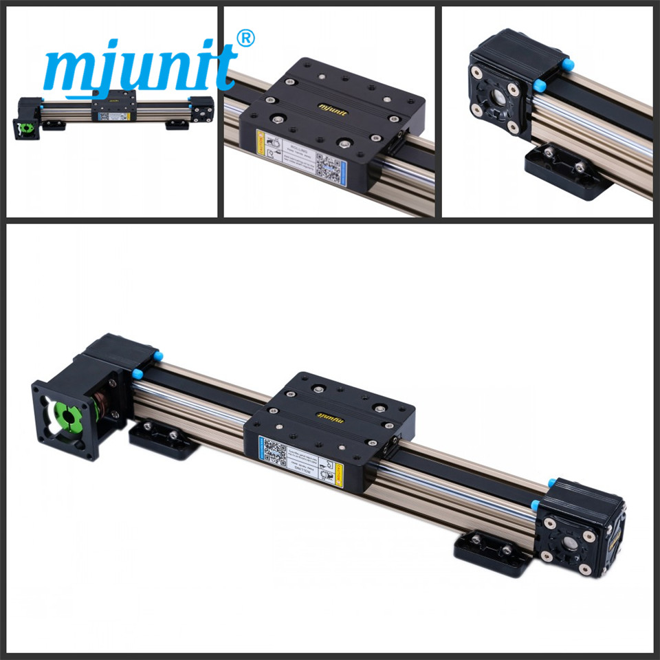 mjunit MJ40 cnc linear motion guides with 800mm stroke mjunit mj40 miniature linear guideway with 400mm stroke