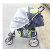 Summer Newborn High Density Anti-Mosquito Nets Twin Baby Stroller Children's Stroller Baby Car Trolley Special Nets(China)