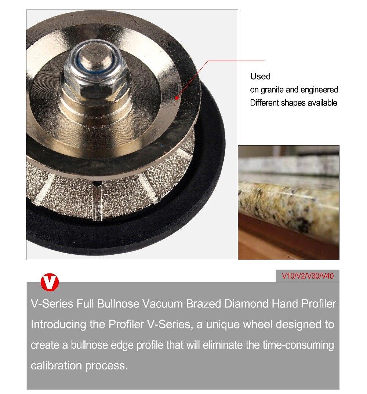 "Diamond Hand Profile Wheels 5/8-11"" | Z30 Straight | Vacuum Brazed"