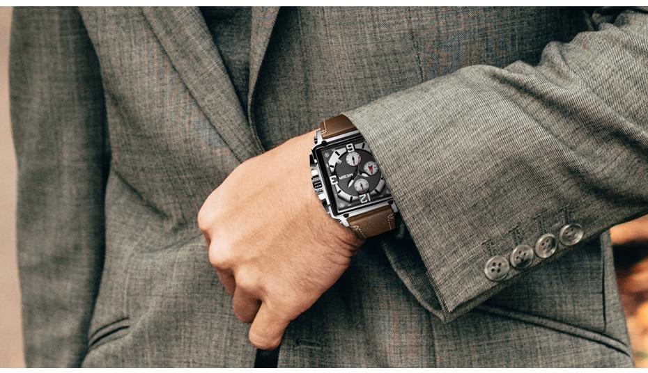 HTB1SKjQTwHqK1RjSZJnq6zNLpXaN MEGIR Creative Men Watch Top Brand Luxury Chronograph Quartz Watches Clock Men Leather Sport Army Military Wrist Watches Saat