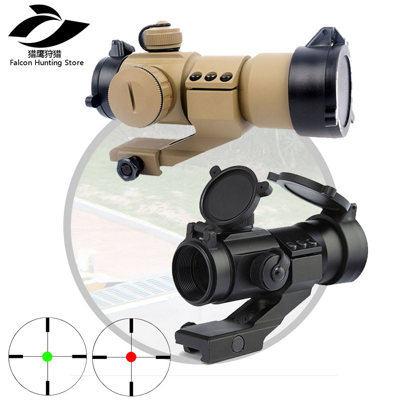 Air gun Aim AT M3 Optical sight Red Dot Hunting Scope Collimator Sight Rifle Reflex Shooting L Shaped Mount