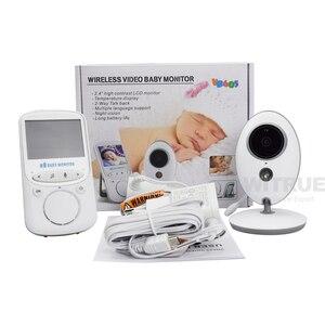 Image 5 - Wireless Baby Monitor VB605 Radio Video Nanny Babyfoon 2.4 Inch Monitor bebe with Camera IR Night Vision baby sitter babymonitor