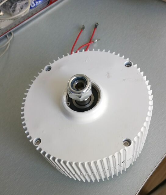 Professional production of PMG 400w 12/24v permanent magnet generator