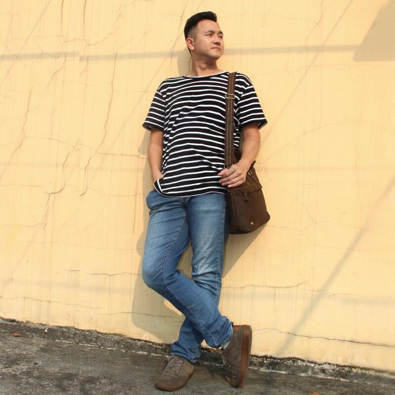 Подлинная верхний слой масла кожаный мужской портфель повседневные деловые винтажные ранцы прямоугольник плечо сумка коричневый черный м...