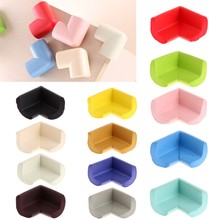 10Pcs Kids Baby Soft Safety Table Corner Edge Guard Protection Cover Children Multicolor U Shape Mini Stripe Corner(China)