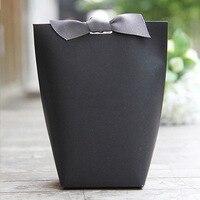 Маленький подарок бумажные мешки для ювелирных изделий лента с изображением подарочных коробок Kraft Chocolates упаковка для конфет Свадебная веч