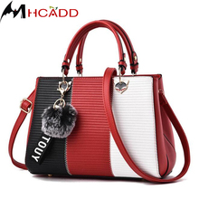 MHCADD Brand Design Women Luxury Handbags Female Elegant Stereotypes Messenger Bag Quality Leather Top-handle Women Tote Bag