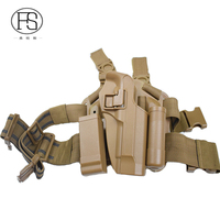 Tactical Military Hunting Shooting Beretta M9 Pistol Leg Holster Army Airsoft Gun Holster Right Hand User
