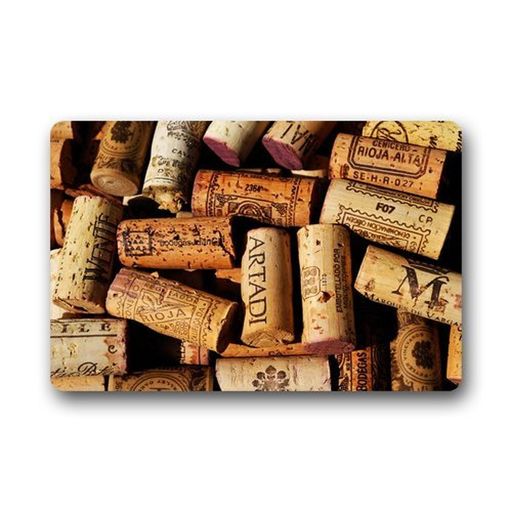 Compare prices on rubber cork flooring online shopping for Wine cork welcome mat