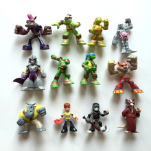 2016 New 12Pcs Teenage Mutant Ninja Turtles TMNT Action Figures Toy Toys Classic Collection high quality