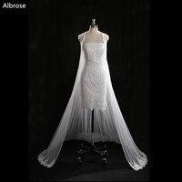 זול פשוט לבנה קצרות חתונת שמלות תחרת שמלות כלה סטרפלס הסקסי גלימת דה mariee vestido דה noiva שיק