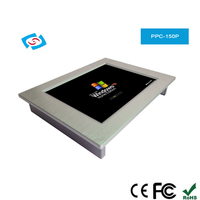 15 Inch Industrial Panel PC Touch Screen Dual Core Processor Cheap Price