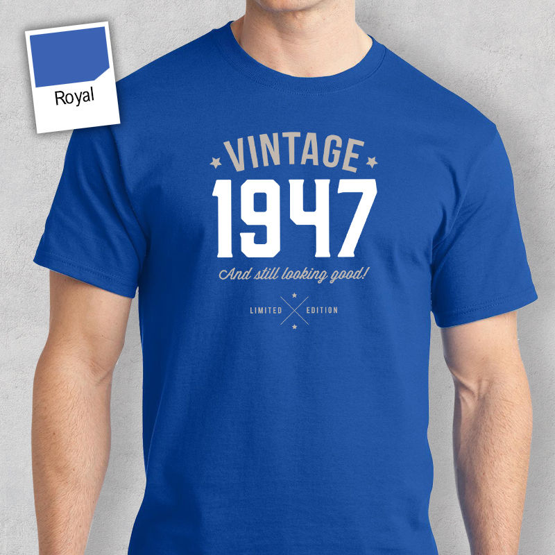 70th Birthday Gift Present Idea For Boys Dad Him Men T Shirt 70 Tee