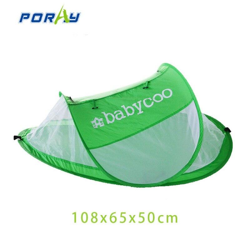 Сетки от комаров сетки Портативный складной дышащий кроватку для малышей от 0 до 3 лет
