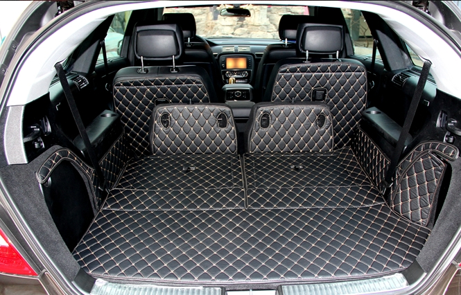 Newly Special Trunk Mats For Mercedes Benz R 350 W251 6