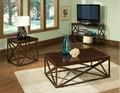 Hierro mesa de café mueble TV país de américa para hacer la cosecha , antigua de madera y algunos esquinas de the tank soporte del teléfono Des