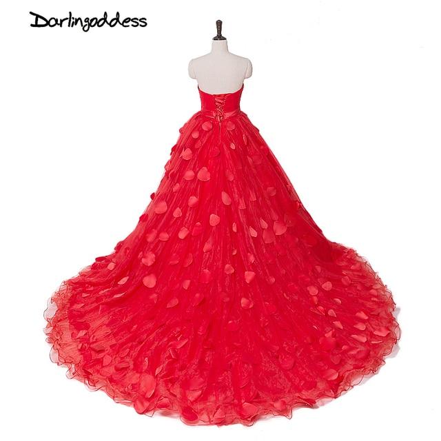 Пикантные красные торжественные платья Дешевые Кот длинным шлейфом плюс размер красивая для беременных женщин Свадебные платья Сделано в Китае реальное изображение 2017