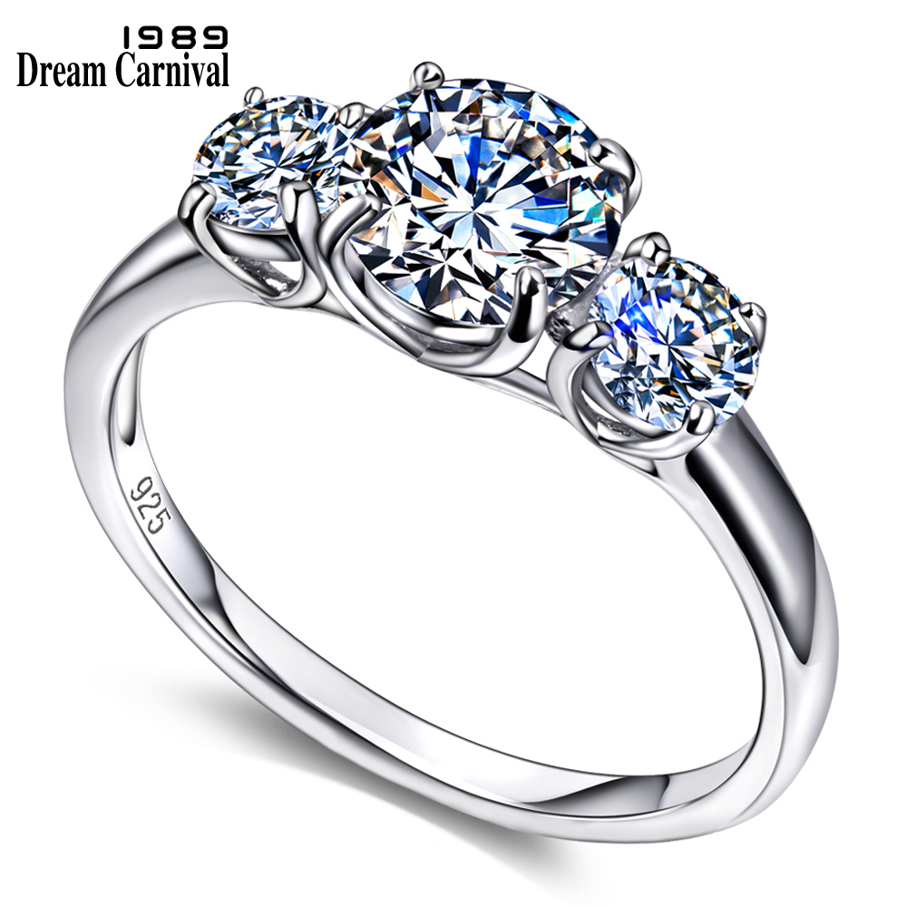 Dreamcarnival 1989 Classic Design Wedding Proposal Ring
