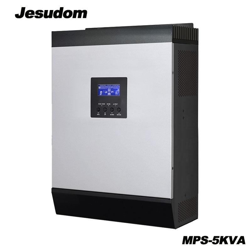 New Product 5KVA Solar Hybrid inverter 4000W 48Vdc to 230Vac 50 60HZ with 48V80A MPPT Solar