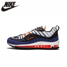 NIKE Air Max 98 Official Comfortable Men Running Shoes Lightweight Sports Outdoor Sneakers #CD1536/CD1538