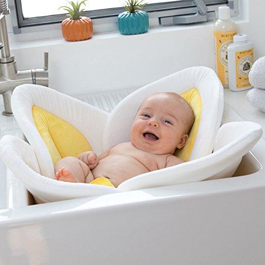 HEYFON استحمام الطفل تزهر زهرة ، حمام - اللعب القطيفة
