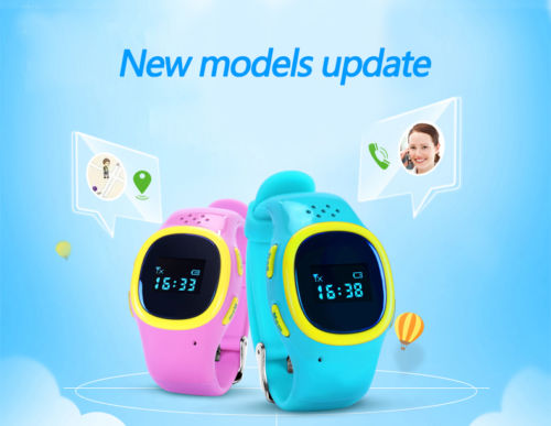 Kids Bluetooth SmartWatch GPS Tracker SOS Call Family Dial Two-way conversation Anti-los ...