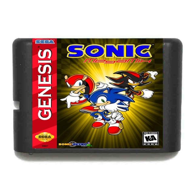 Sonic MegaMix For Sega Genesis