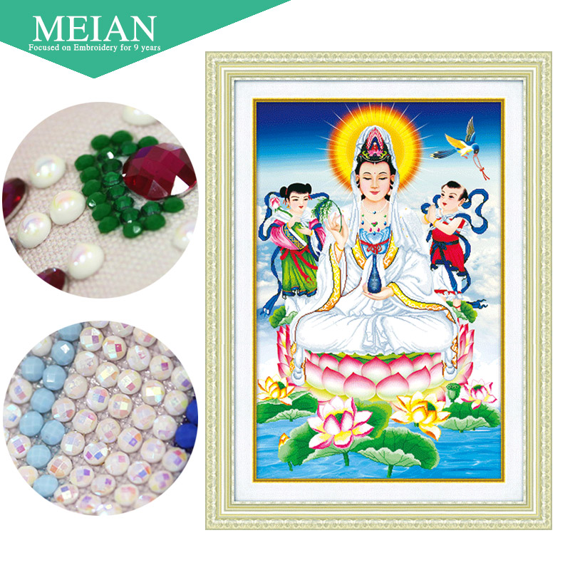 Meian,Special Shaped,Diamond Embroidery,Bodhisattva,5D,Diamond Painting,Cross Stitch,3D,Diamond Mosaic,Decoration,ChristmasMeian,Special Shaped,Diamond Embroidery,Bodhisattva,5D,Diamond Painting,Cross Stitch,3D,Diamond Mosaic,Decoration,Christmas