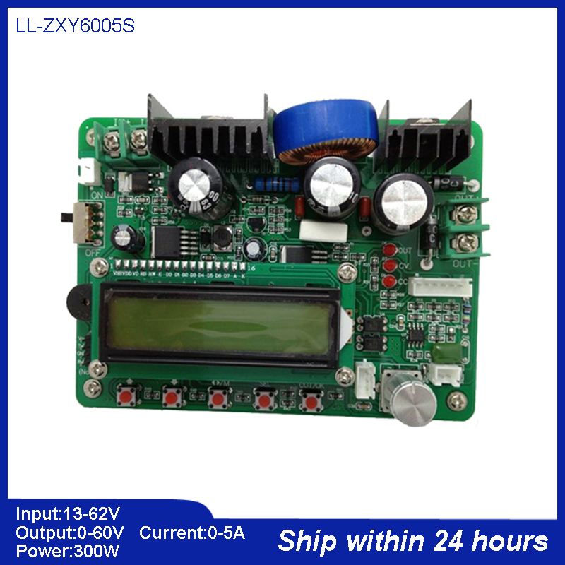 High Accuracy 8V-60V DC Stabilized Power Supply/Programmable Control Buck Converter Regulater/CNC 60V 5A 300W Step-down Module цены
