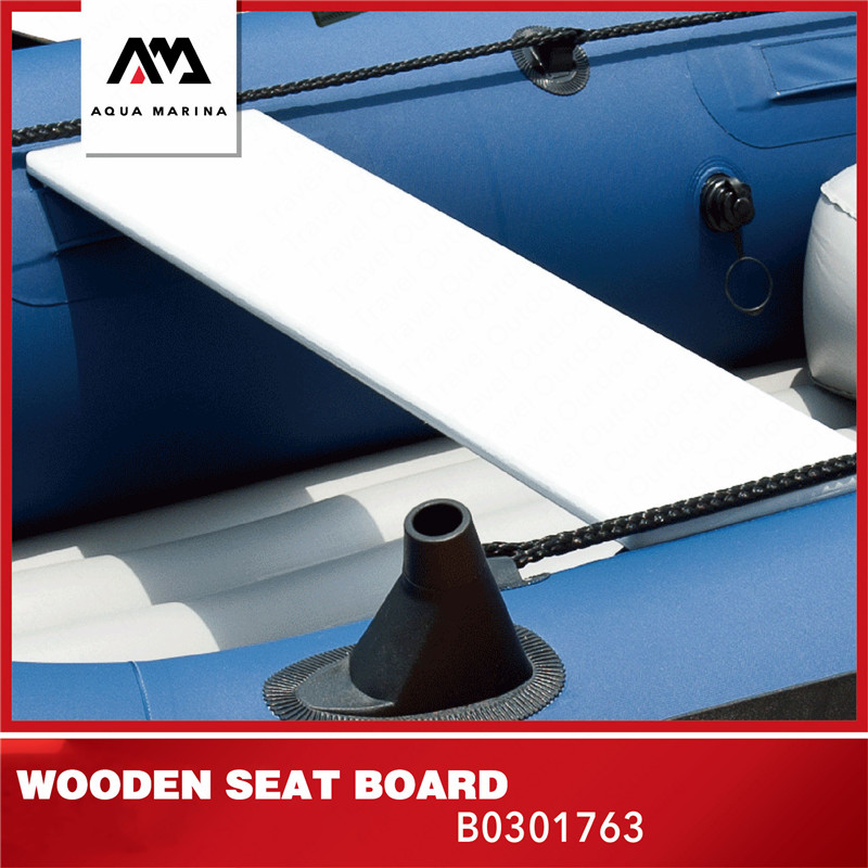 AQUA MARINA Inflatable Boat Accesries Kayak Wooden Seat Board Inflatable Kayak Seat Board For Nautical Canoeing Seat 79*18*1.5cm