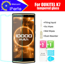 OUKITEL K7 Tempered Glass 100% Original Premium 9H 2.5D Screen Protect