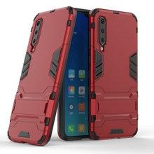 Armor Shockproof Case For Xiaomi Mi 9 Mi9 6.39 3D Shield PC+Silicone Phone Cover SE 5.97