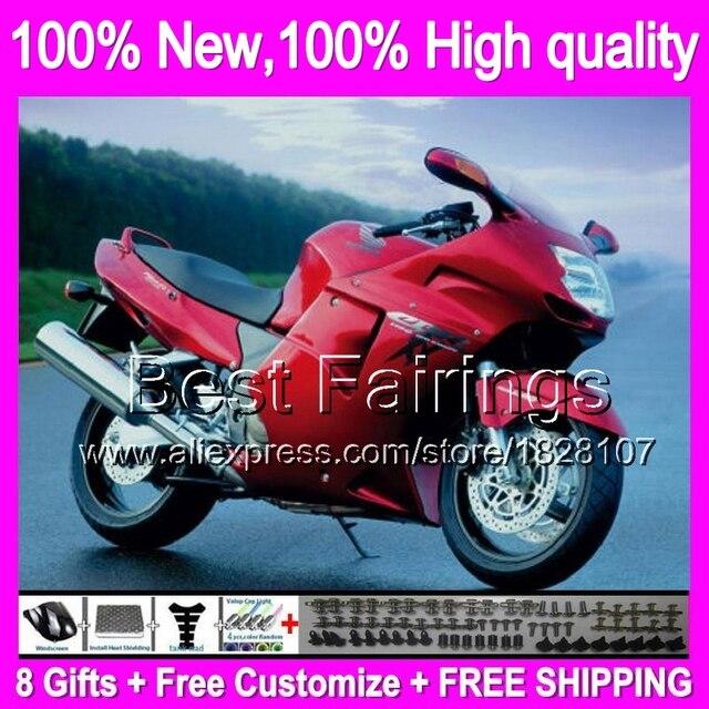 Fairing Dark Red For HONDA CBR1100XX 96 07 CBR1100 XX 97 98 99 00 01 42B37 CBR 1100XX 02 03 04 05 06 1100 Decal